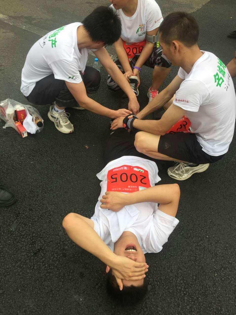 福州英诺电子科技有限公司团队参加福州首届马拉松大赛