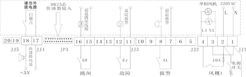 IB-L201D干式变压器温控器
