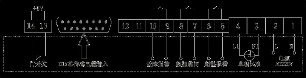 IB-Q201温控器端子接线图