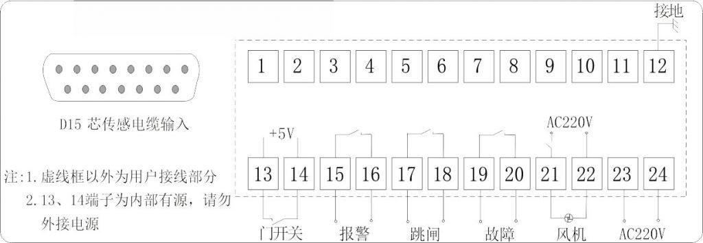 IB-S201D端子接线图